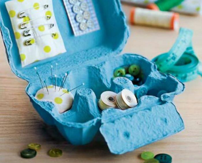 фурнитура в картонном лотке от яиц