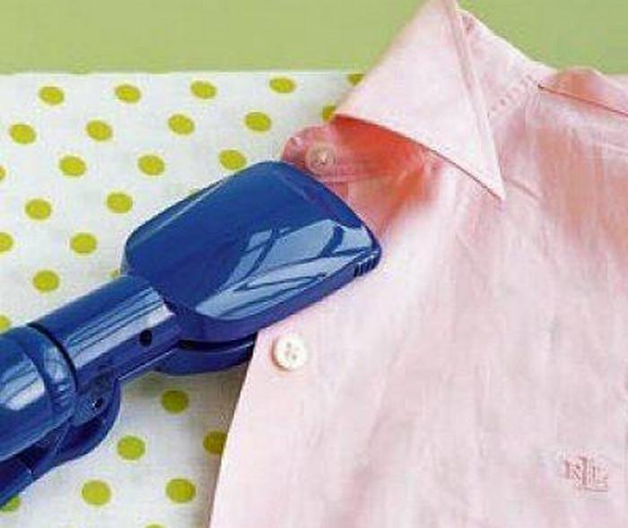 утюжить одежду выпрямителем для волос
