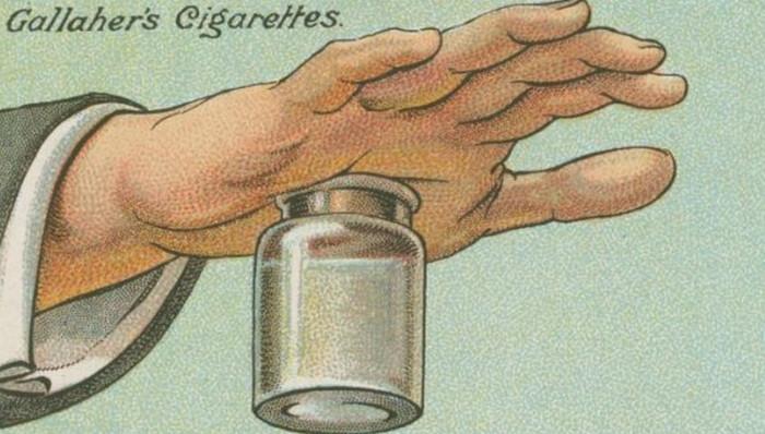 заноза в руке