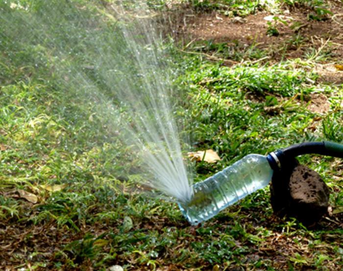 распылитель из пластиковой бутылки