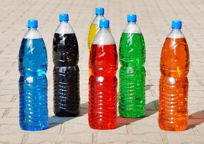 кегли из пластиковых бутылок