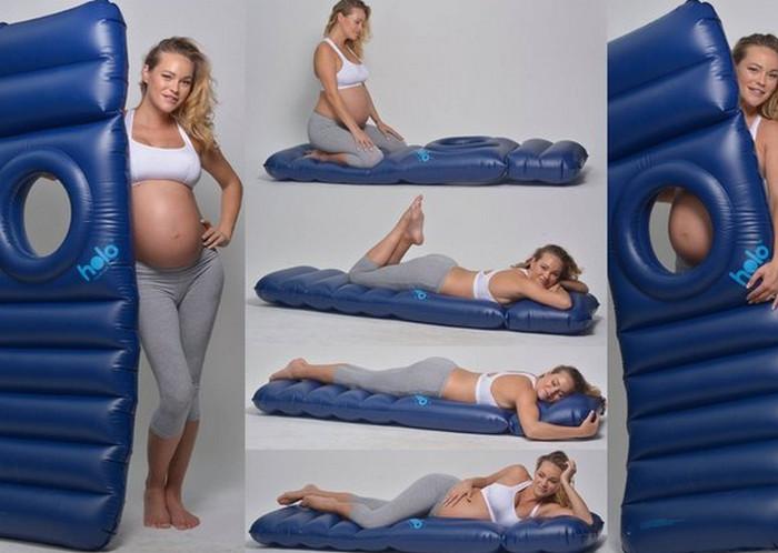 матрас для беременных с отверстием