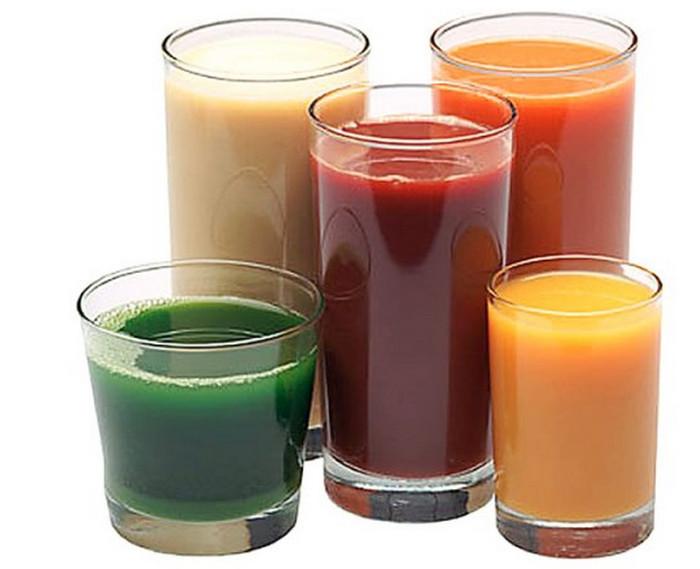 стаканы с соками