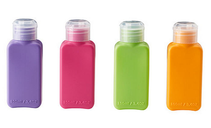 бутылочки для путешествий 100 мл