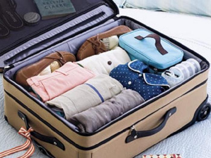 собранный чемодан