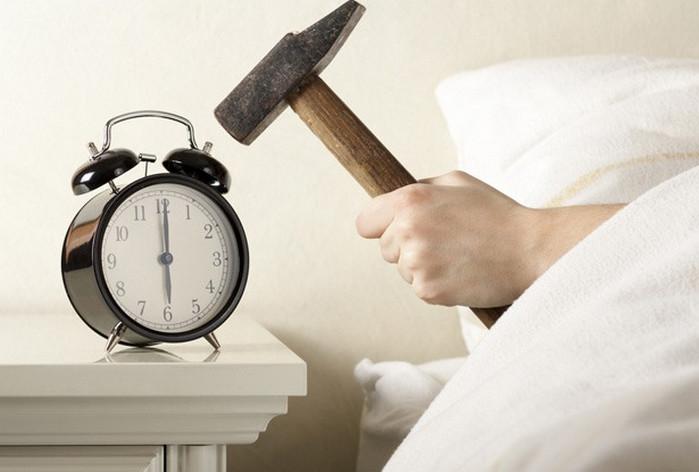 будильник на 6 утра