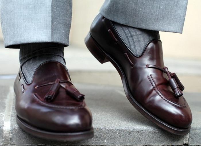 носки в тон брюк