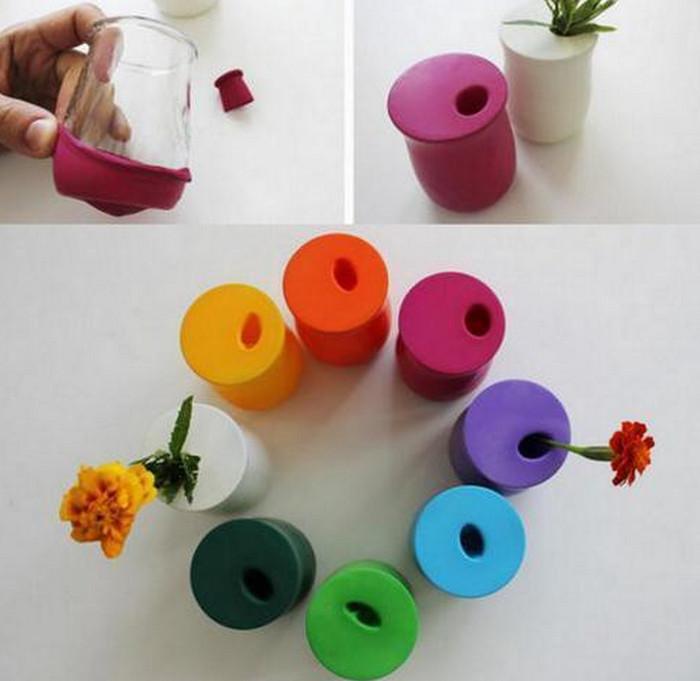 вазы из шариков