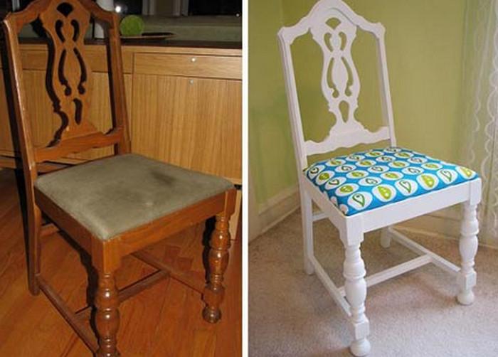 отреставрированный стул