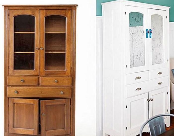 Как преобразить старый шкаф своими руками фото до и после картинки 26