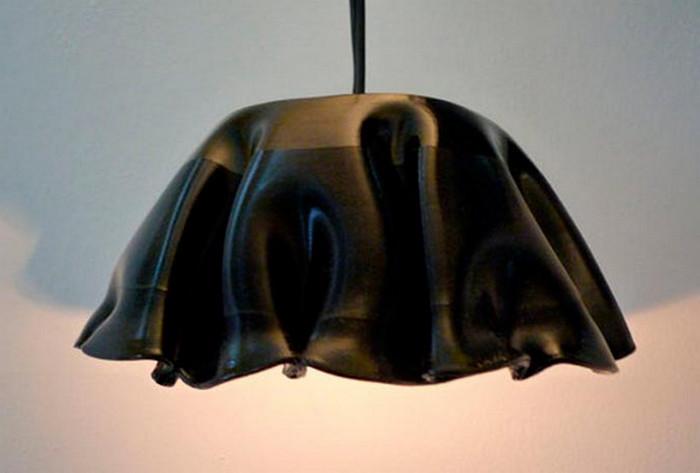 плафон для светильника из винила