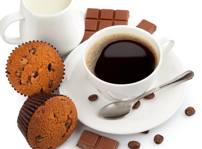 кофе и кекс