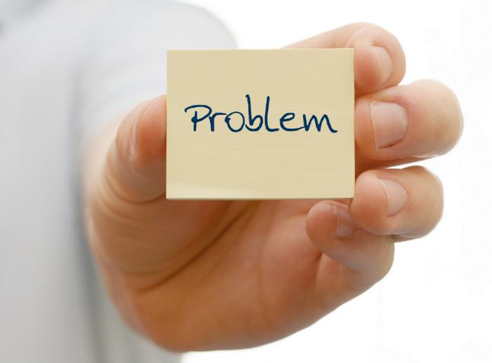 """слово """"проблема"""" написано на бумажке"""