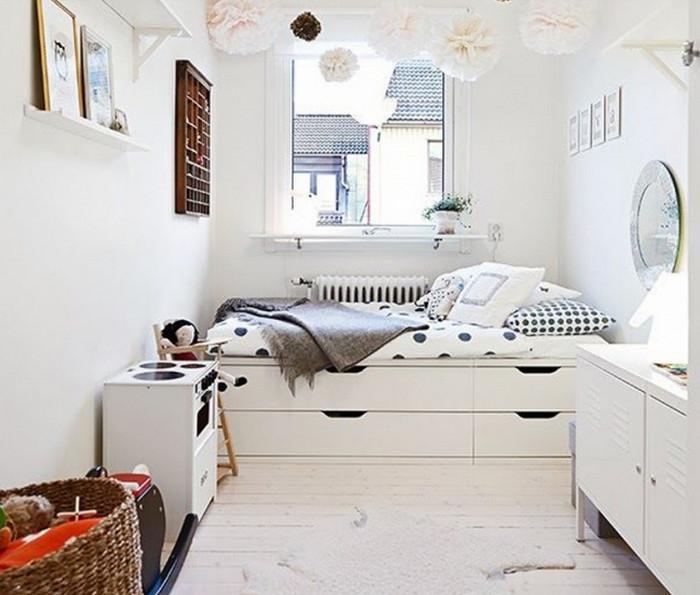 белоснежная комната