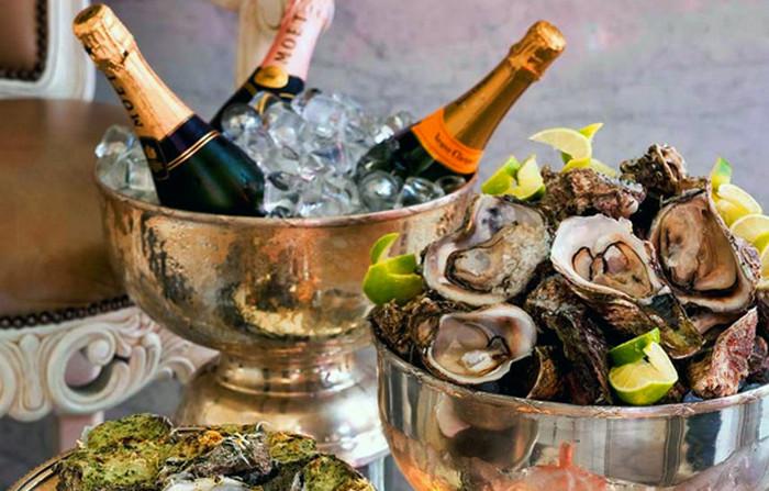 шампанское и устрицы
