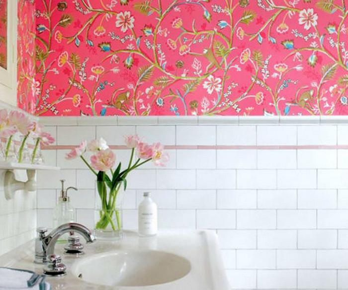 пленка на стенках в ванной