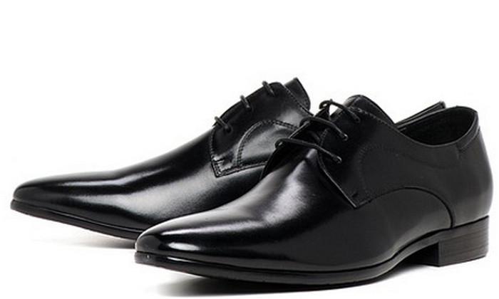 отполированные туфли