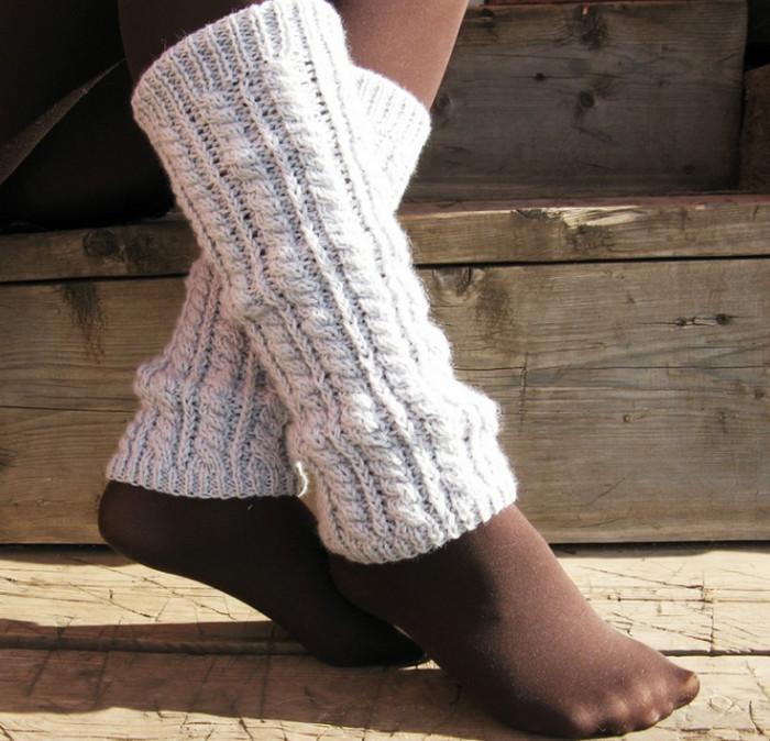 гетры из свитера