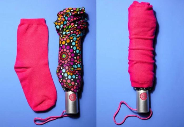 зонт в носке