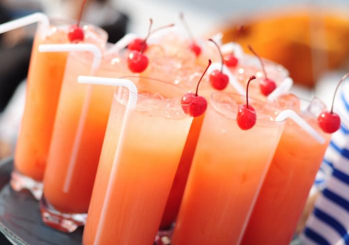 стаканы с соком