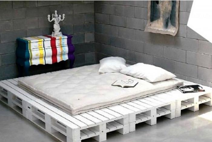 каркас для кровати из паллет
