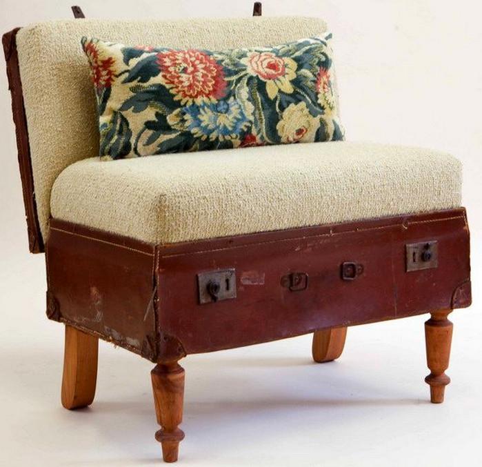 мини-диван из чемодана