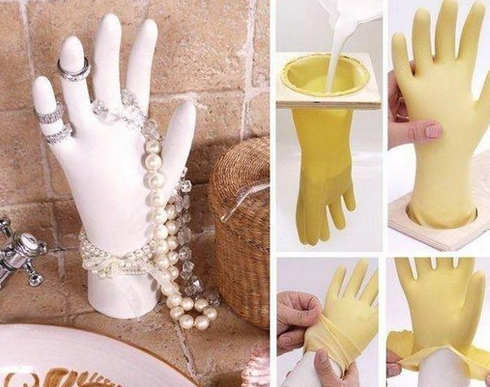 украшения на гипсовой руке