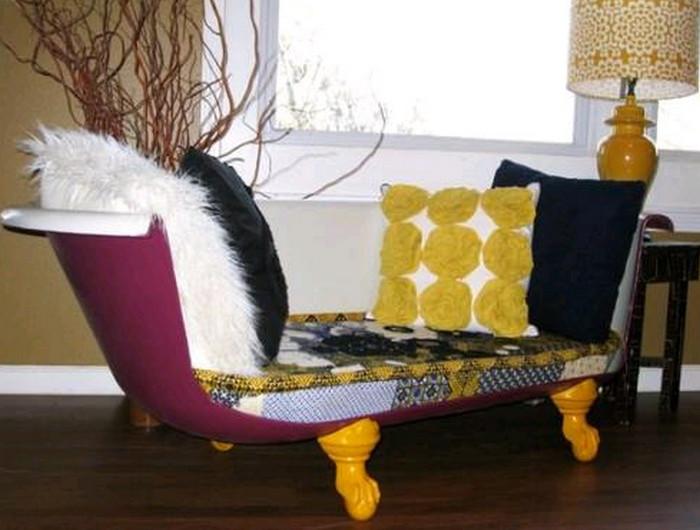 диван из ванной