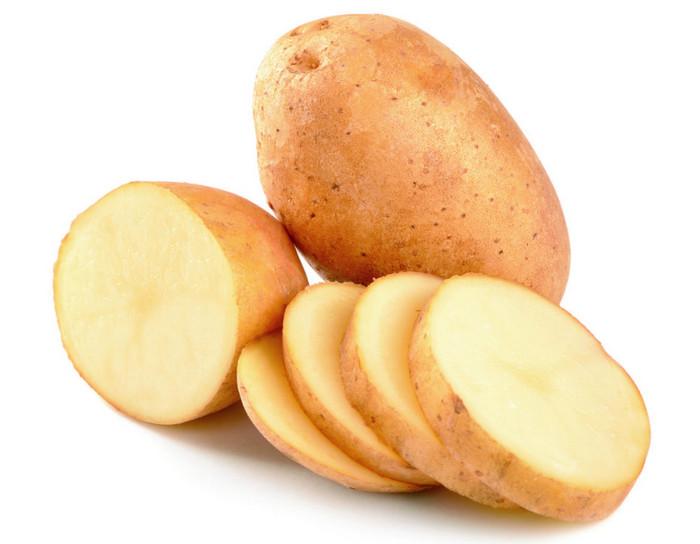 кружочки картофеля