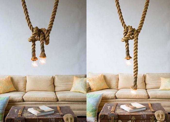 лампочка на веревке