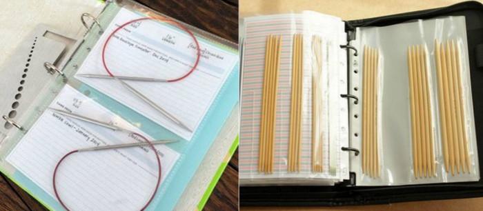 спицы в папке с файлами