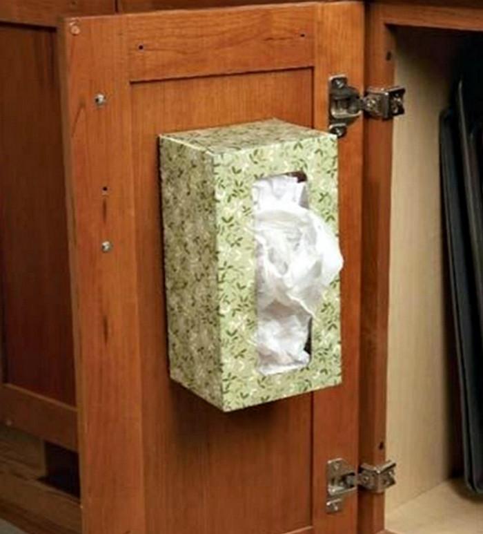 Идеи для хранения пакетов своими руками