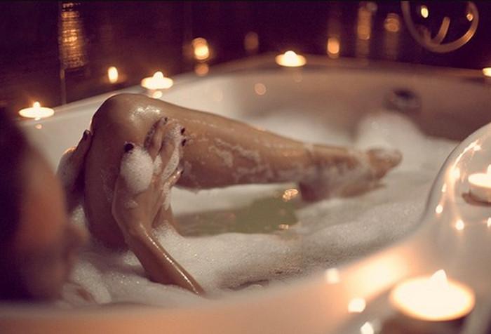 ванна с пеной