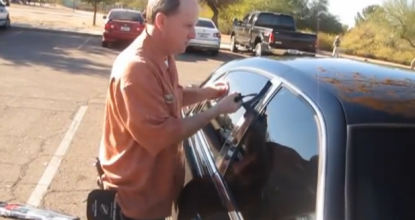 Открыть свой автомобиль когда потеряли ключи