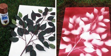 10 лайфхаков, как сделать картину для интерьера своими руками