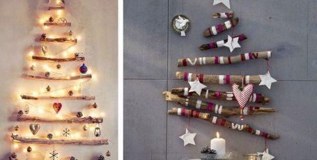 ТОП 10 лайфхаков, как сделать креативную елку: арт-елки и анти-елки в интерьере