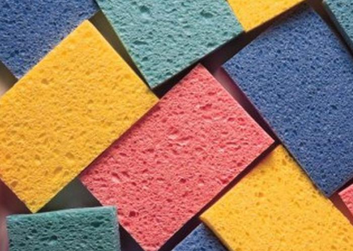 поролоновые губки для мытья посуды