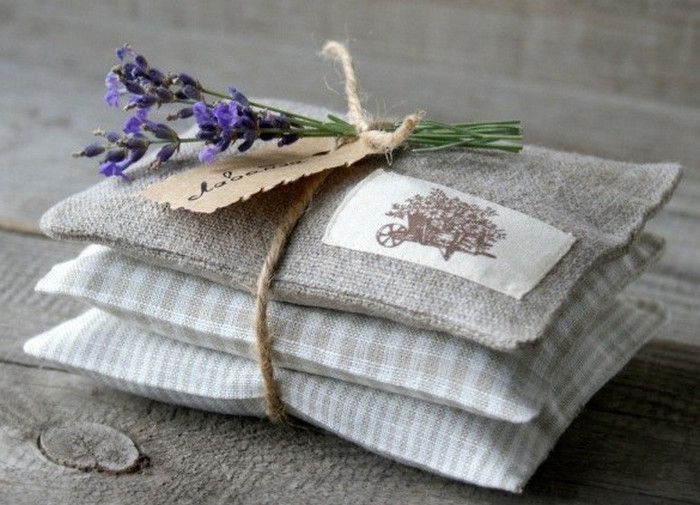 тряпичные мешочки с травами