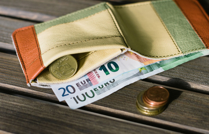 евро и монеты