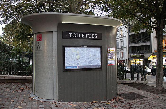 парижский туалет