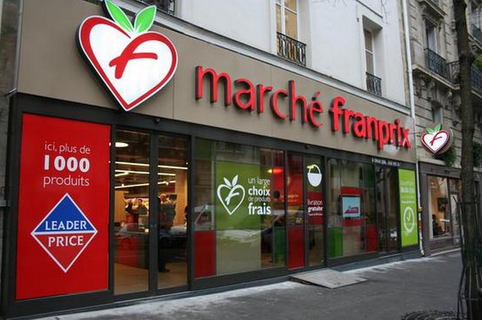 Franprix супермаркет