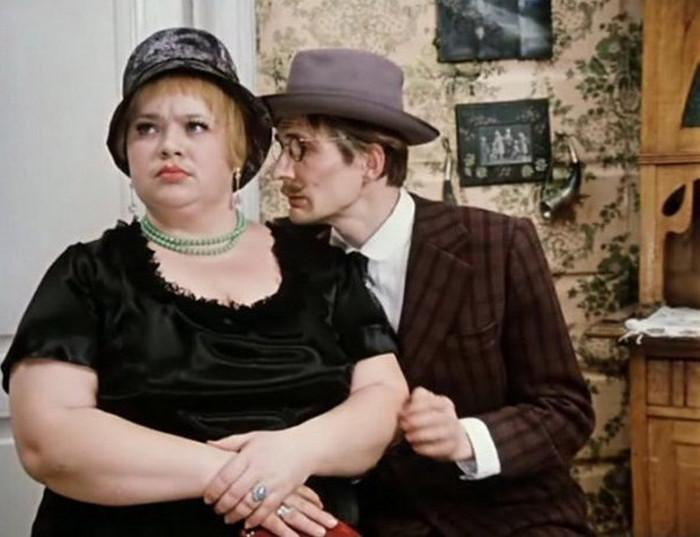толстая женщина и худой мужчина