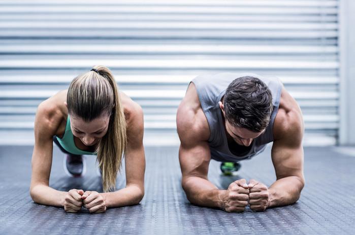упражнение планка на выносливость