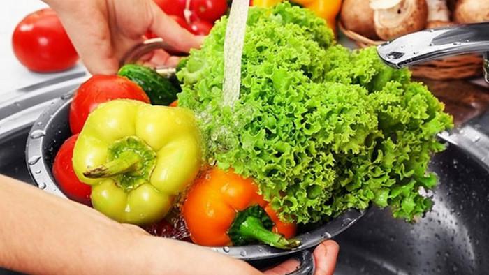 овощи в воде