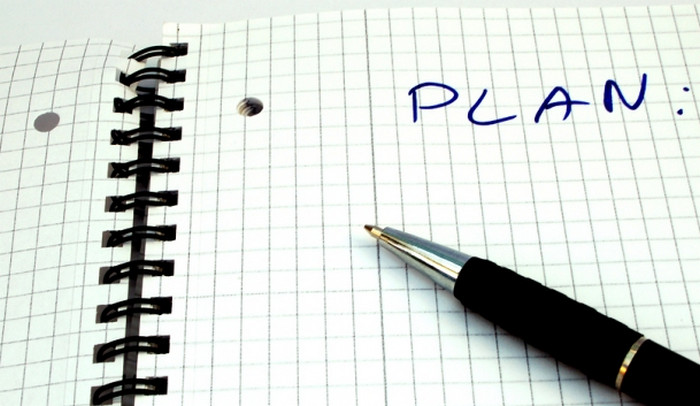 слово план в блокноте
