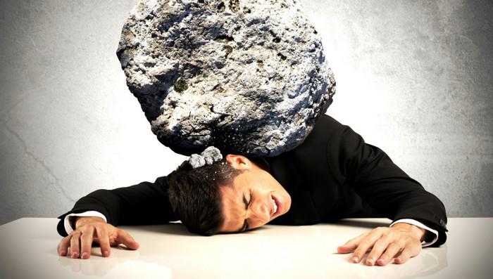 камень на шее