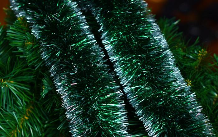 зеленая мишура
