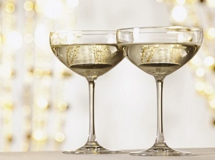 шампанское в креманках