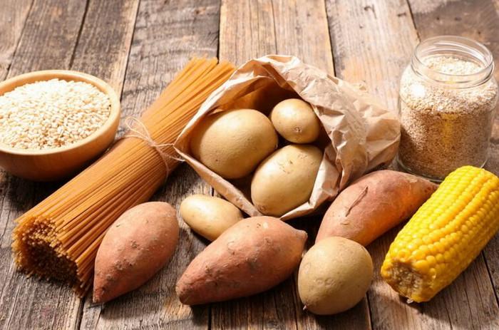 картошка и макароны