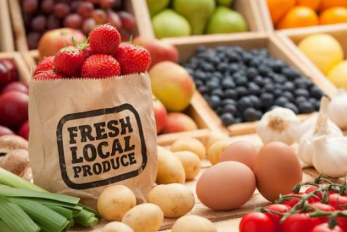 местные продукты